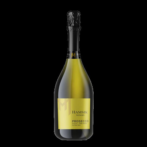 Fľaša prosecca Hamsik winery D.O.C. treviso spumante