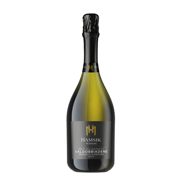 Bottle of  Hamsik Winery Prosecco D.O.C.G. VALDOBBIADENE 0,75l