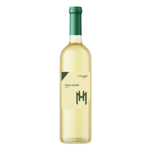 Bottle of Irsai Oliver hamsik winery 0,75l