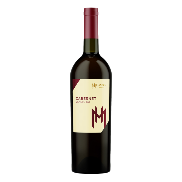 bottle 0.75l Italian wine Cabernet Veneto IGT hamsik winery eshop eshop