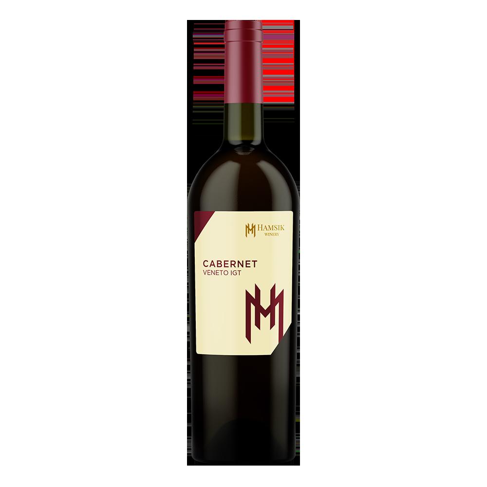 fľaša 0,75l talianskeho vína cabernet veneto igt hamsik winery eshop