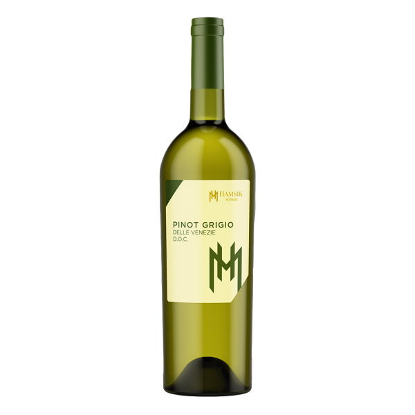 bottle 0.75l Italian wine Pinot Grigio Delle Venezie D.O.C. hamsik winery eshop eshop