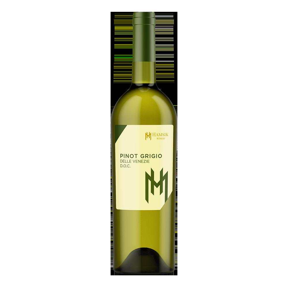 fľaša 0,75l talianskeho vína pinot grigio delle venezie doc hamsik winery eshop