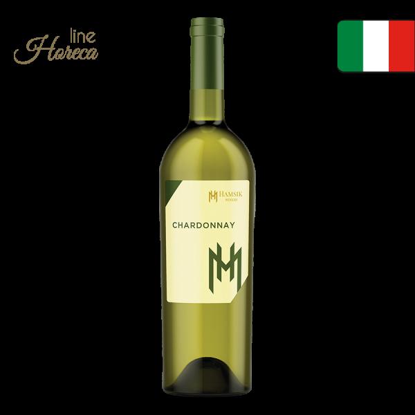 HAMSIK winery  Chardonnay - Talianske biele víno - suché fľaša 0,75l