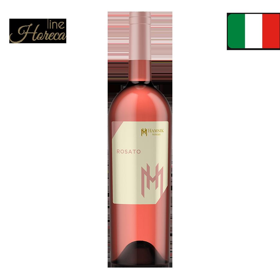 HAMSIK winery Rosato - Talianske ružové víno - polosuché fľaša 0,75l