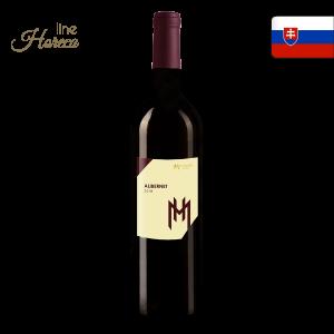 Hamsik winery Alibernet 2018 - Slovenské červené víno - polosuché fľaša 0,75l