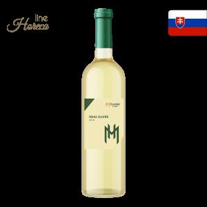 hamsik winery irsai oliver slovenské biele víno polosuché 2018 fľaša 0,75l