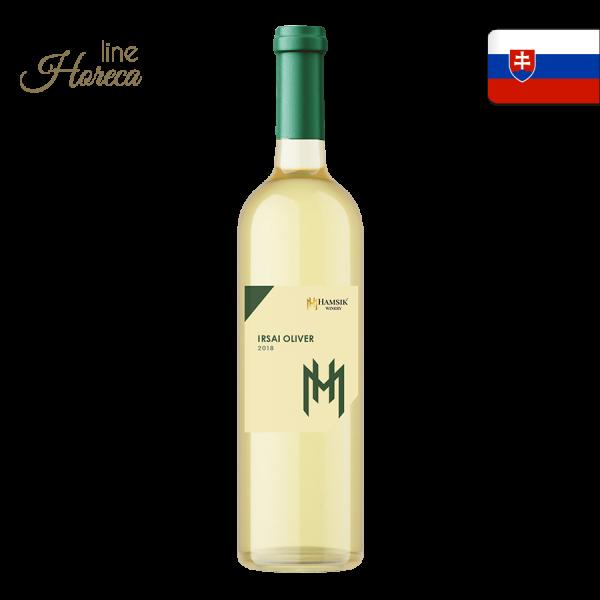 hamsik winery irsai oliver slovenské biele víno polosuché 2018