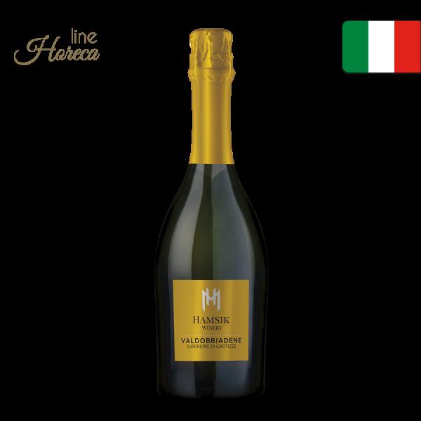 HAMSIK winery VALDOBBIADENE SUPERIORE DI CARTIZZE DOCG - Prosecco fľaša 0,75l