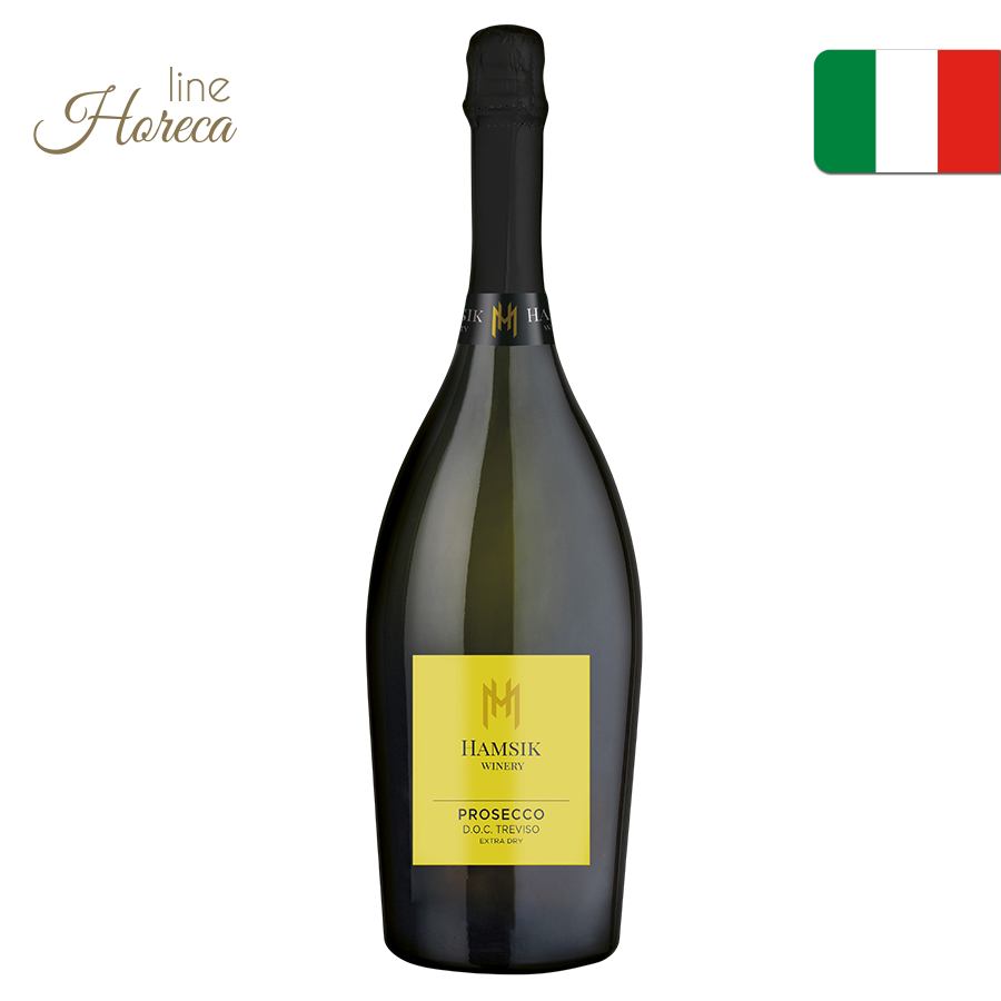 hamsik winery prosecco doc fľaša 1,5l