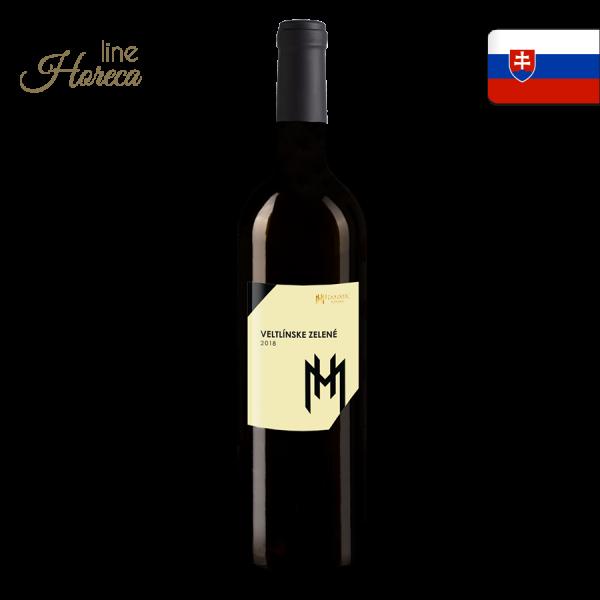 Hamsik winery - Veltlínske zelené 2018 - Slovenské biele víno - polosuché fľaša 0,75l